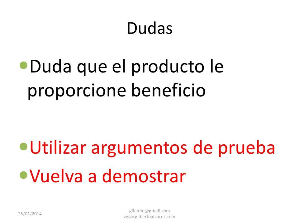 Objeciones verdaderas o lógicas Dudas Malentendidos desventajas 25/01/2014 gilalme@gmail.com www.gilbertoalvarez.com