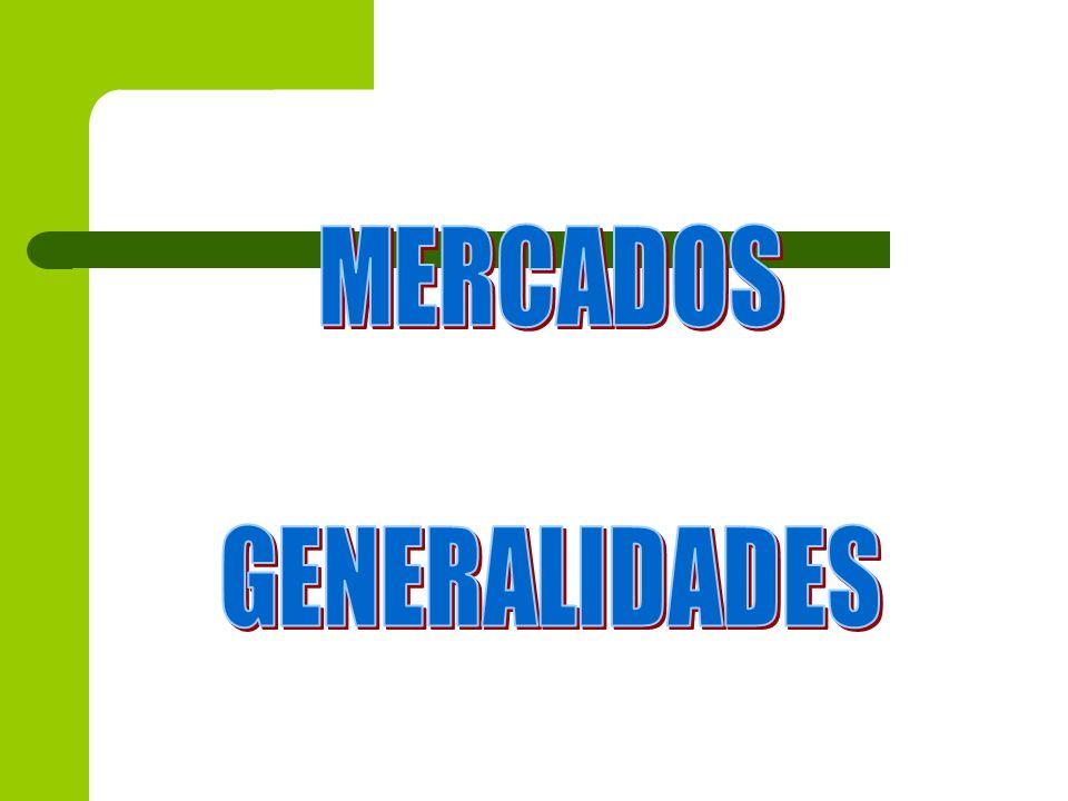 CONCEPCION DE MERCADO Lugar en que asisten la oferta y la demanda para realizar transacciones de bienes y servicios a un precio determinado Mercado realMercado potencial Vs
