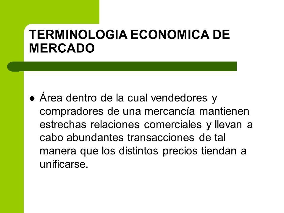 SEGÚN LA NATURALEZA DE LOS PRODUCTOS Productos agropecuarios Materias primas Productos técnicos o industriales Productos manufacturados Mercado de servicios Mercado abierto