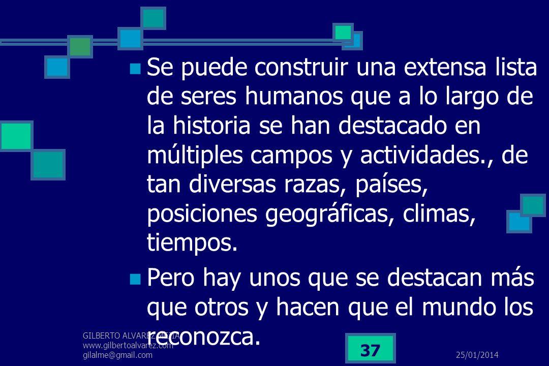 25/01/2014 GILBERTO ALVAREZ MEJIA www.gilbertoalvarez.com gilalme@gmail.com 36 ESPIRITU EMPRESARIAL Las cosas no resultan por casualidad, sino por la
