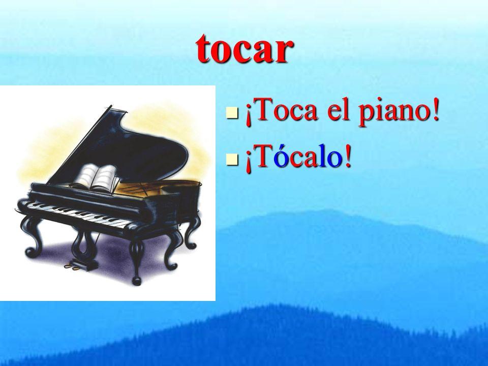 tocar ¡Toca el piano! ¡Toca el piano! ¡Tócalo! ¡Tócalo!