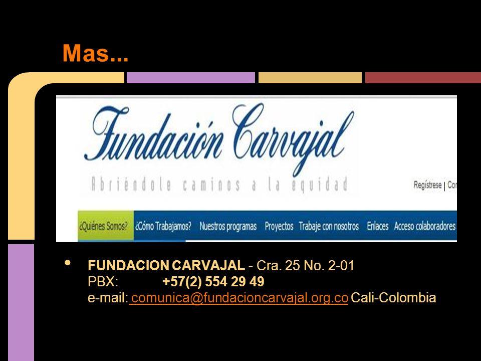 FUNDACION CARVAJAL - Cra. 25 No.
