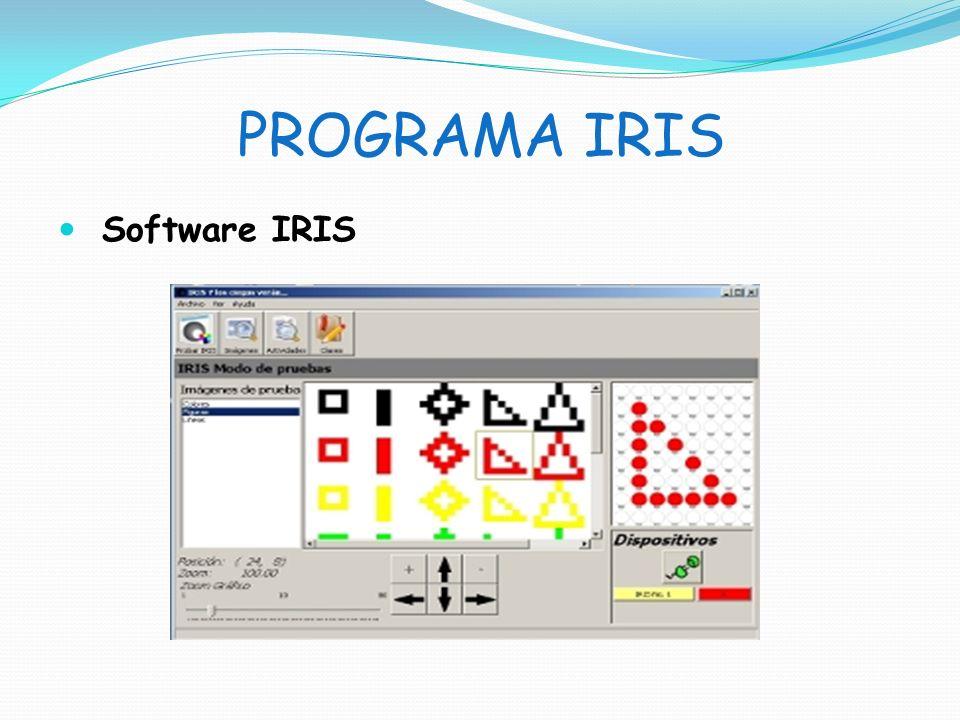 PROGRAMA IRIS Software IRIS