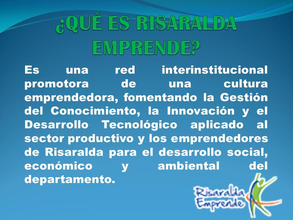 Es una red interinstitucional promotora de una cultura emprendedora, fomentando la Gestión del Conocimiento, la Innovación y el Desarrollo Tecnológico