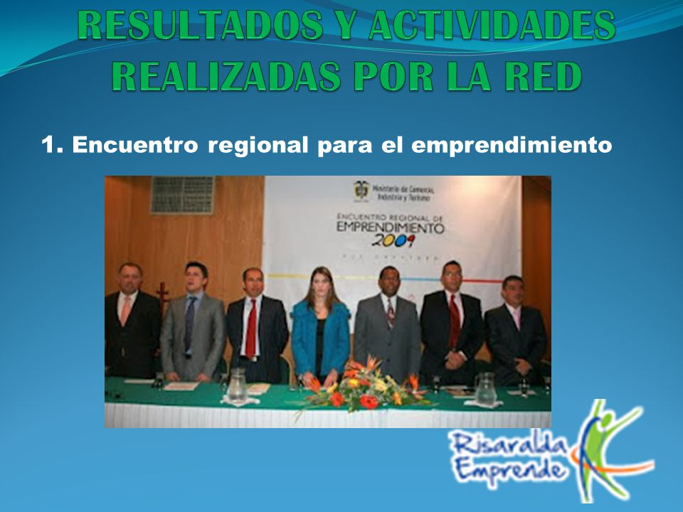 1. Encuentro regional para el emprendimiento