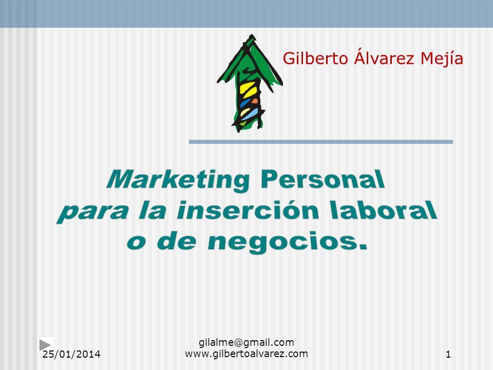 Gilberto Álvarez Mejía 25/01/20141 gilalme@gmail.com www.gilbertoalvarez.com