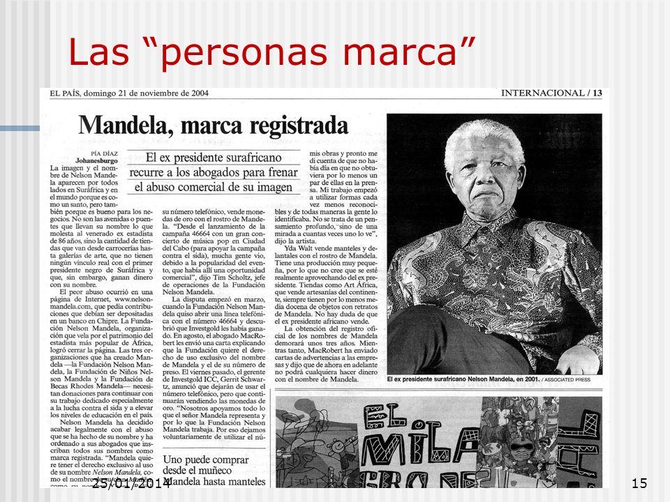 Las personas marca 25/01/201415