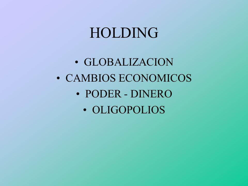 COMPAÑÍA TENEDORA MATRIZ COMPAÑÍA CONTROLADAS (SUBSIDIARIAS O FILIALES )