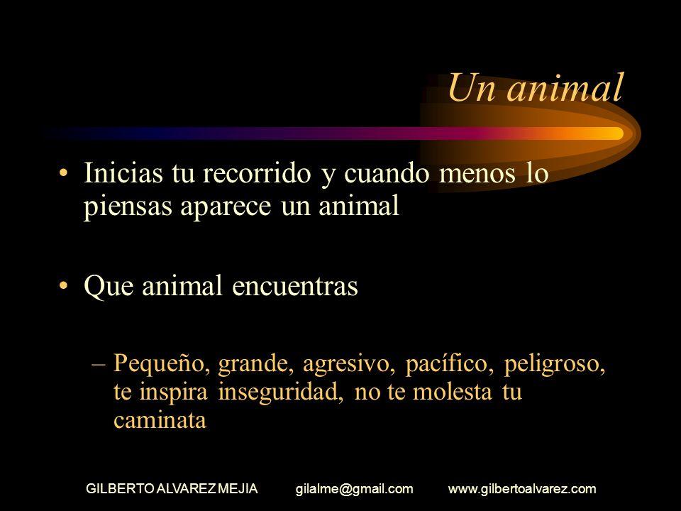 GILBERTO ALVAREZ MEJIA gilalme@gmail.com www.gilbertoalvarez.com La compañía en el bosque Acuérdate estas solo (a) Con que persona desearías estar en