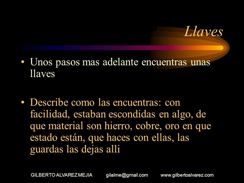 GILBERTO ALVAREZ MEJIA gilalme@gmail.com www.gilbertoalvarez.com Taza Quieres explorar la casa y sus alrededores, sales de ella y encuentras una taza