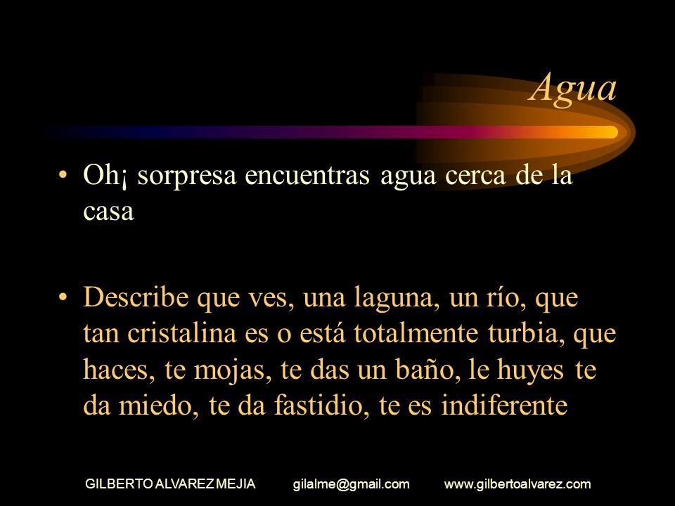 GILBERTO ALVAREZ MEJIA gilalme@gmail.com www.gilbertoalvarez.com Llaves Unos pasos mas adelante encuentras unas llaves Describe como las encuentras: c