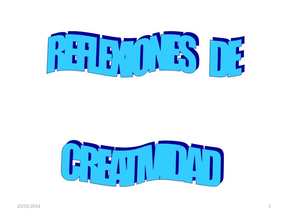 25/01/201441 CREATIVIDAD - FACILITADORES CURIOSIDAD OBSERVAR Y ESCUCHAR OBSERVAR AFUERA Y REGISTRAR ADENTRO MIRAR PROFUNDAMENTE PENSAMIENTO DIVERGENTE FLUIDEZ FLEXIBILIDAD ORIGINALIDAD DEFINIR SENSIBILIDAD EVALUACION AUTOESTIMA HUMOR AFECTO