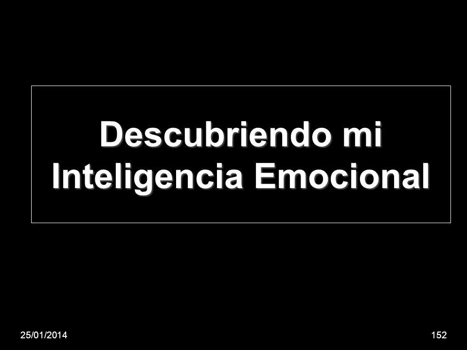 Descubriendo mi Inteligencia Emocional 25/01/2014152