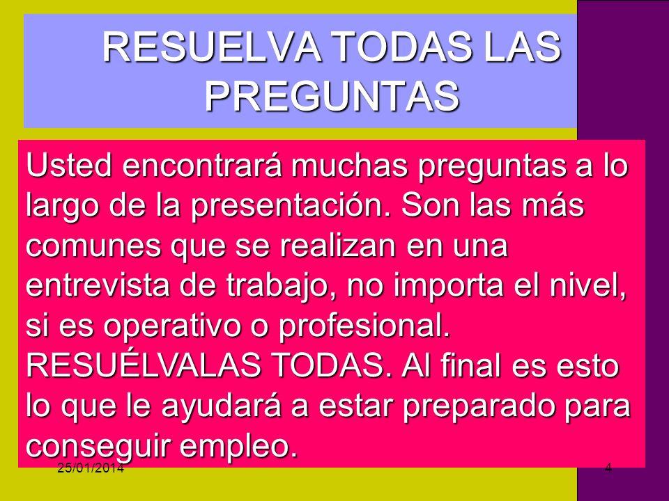 Estratégico Operativo HAGA SU MERCADEO PERSONAL RECOMENDACIÓN 5 25/01/201445