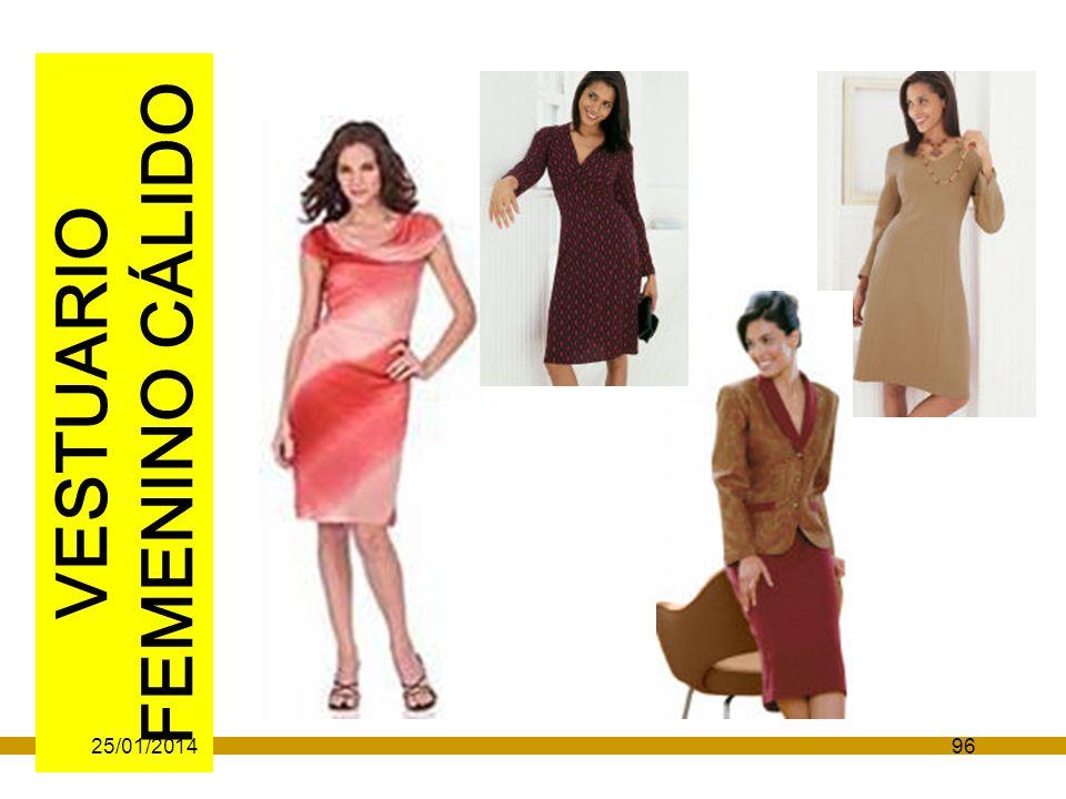 VESTUARIO FEMENINO CÁLIDO 25/01/201496