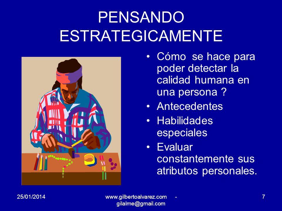PENSANDO ESTRATEGICAMENTE Cual es su herramienta gerencial predilecta .