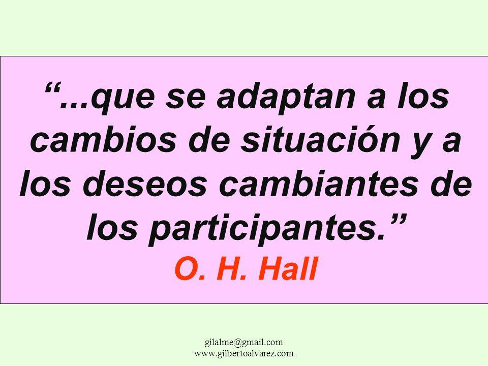 Las relaciones estructurales no son recetas eternas, sino reglas de juego... gilalme@gmail.com www.gilbertoalvarez.com