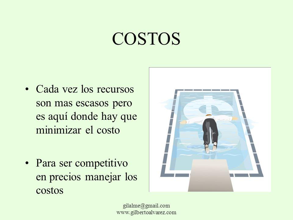 CALIDAD Consiste en cumplir con las expectativas del usuario fundamentado en la ética y el respeto gilalme@gmail.com www.gilbertoalvarez.com