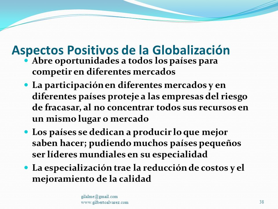 La Globalización La Competitividad La competitividad es la capacidad de producir bienes y servicios de igual calidad a los existentes en el mercado, p