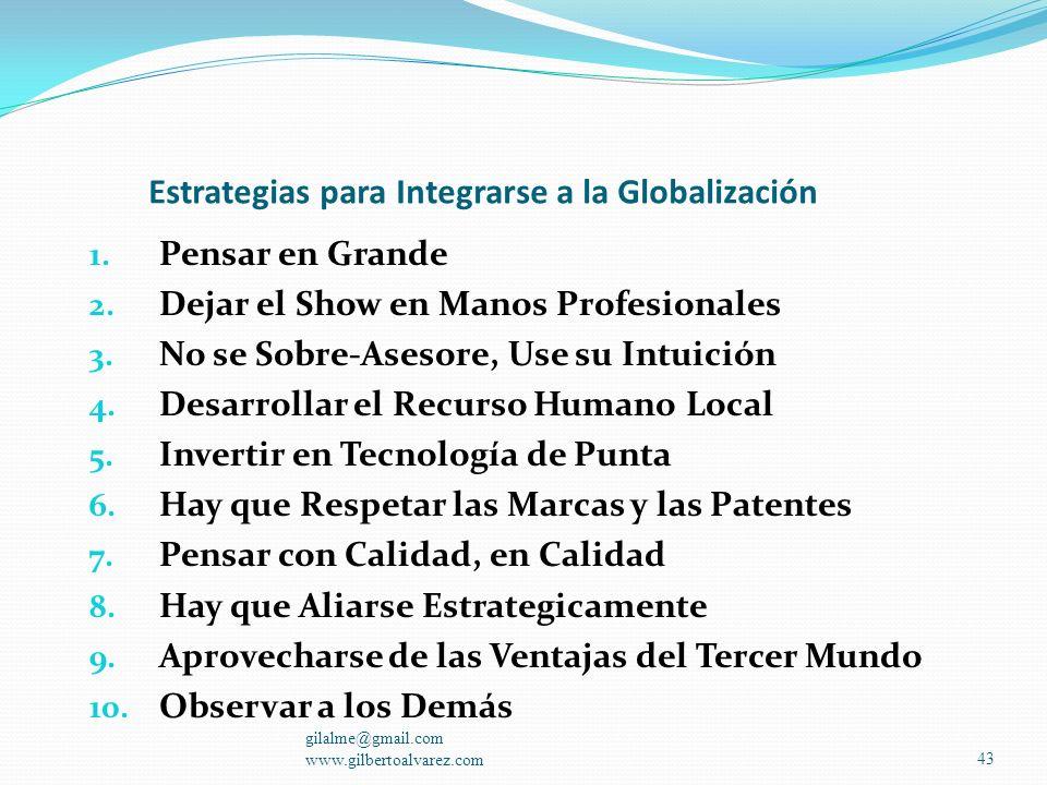 gilalme@gmail.com www.gilbertoalvarez.com42