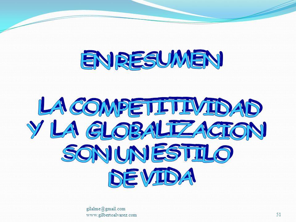 gilalme@gmail.com www.gilbertoalvarez.com50