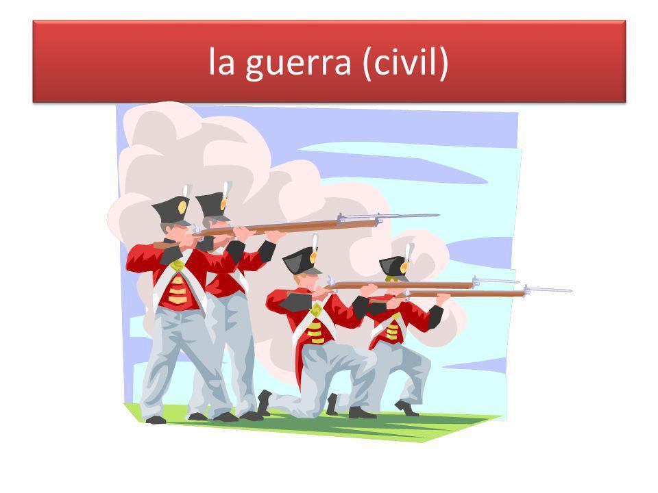 la guerra (civil)