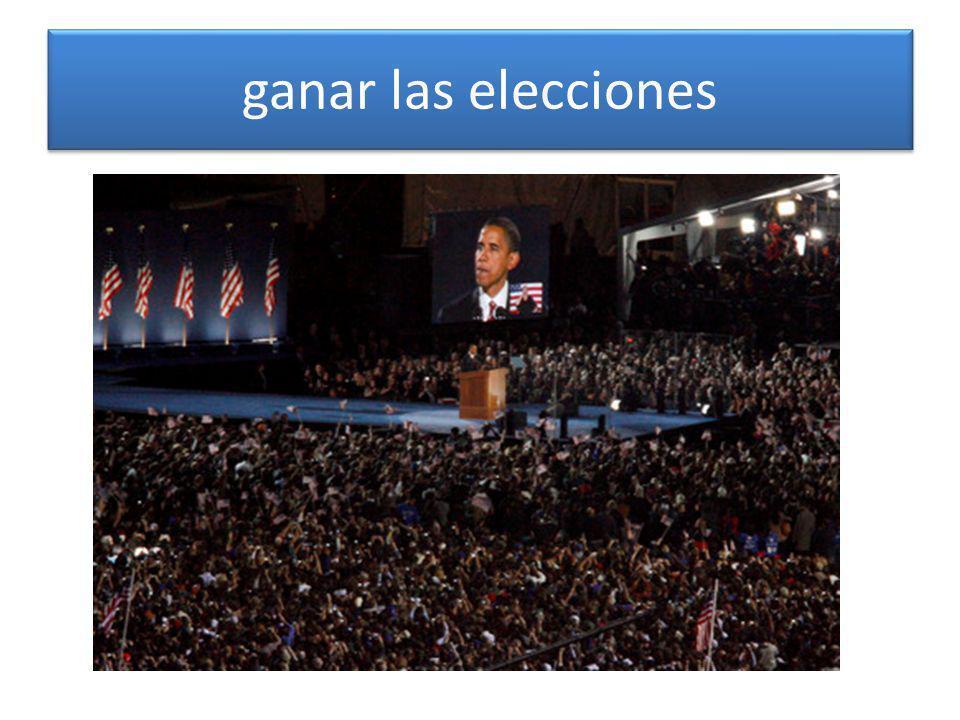 ganar las elecciones