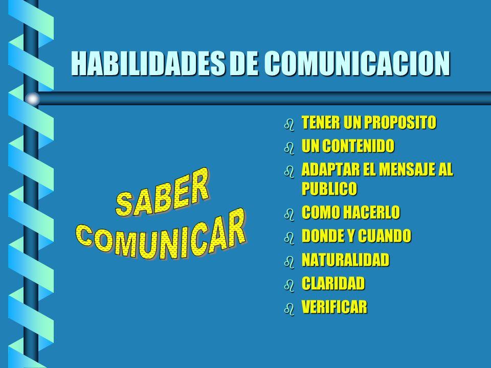 Tipos de comunicacion b INFORMAL b RUMORES b CHISMES b APRECIACIONES SIN CAUSA EL MESS