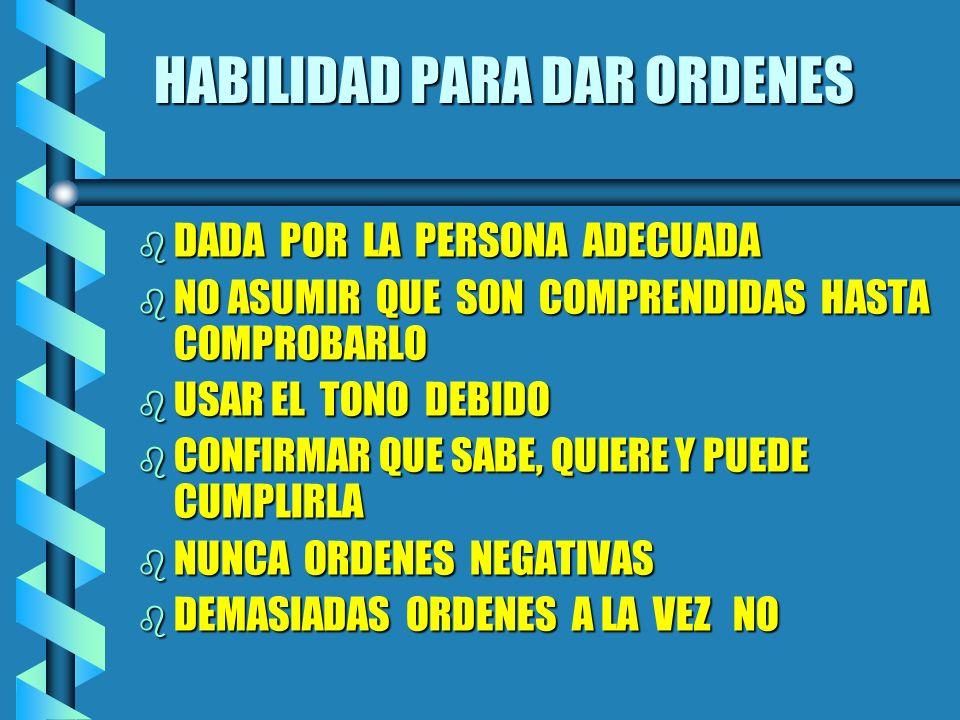 HABILIDADES DE LA COMUNICACION bSbSbSbSABER USAR EL SILENCIO bDbDbDbDEMOSTRAR INTERES bRbRbRbRESPETO EL PAREDON