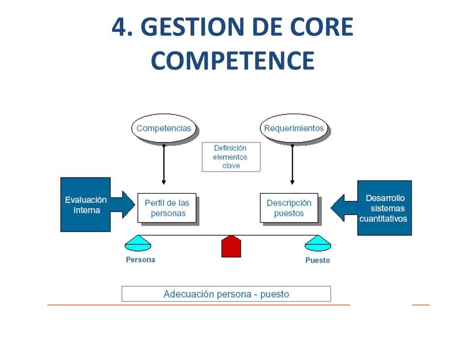 4. GESTION DE CORE COMPETENCE