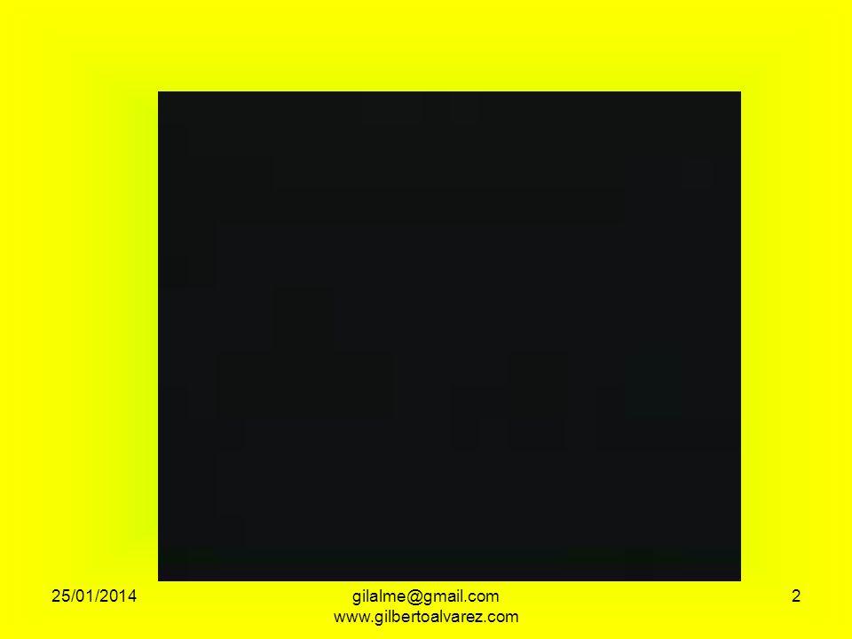 OPORTUNIDAD DE CUIDAR LO QUE TIENES DE DESPERTAR TU CONCIENCIA DE APRENDER A HACER MÁS CON MENOS 25/01/201413gilalme@gmail.com www.gilbertoalvarez.com