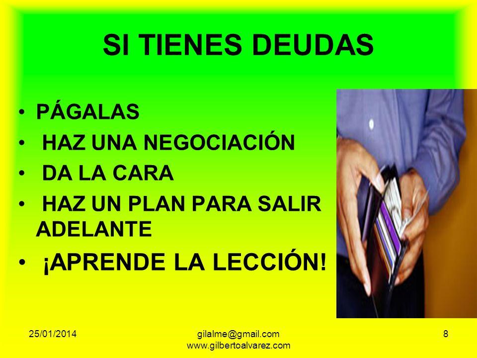 25/01/201419gilalme@gmail.com www.gilbertoalvarez.com