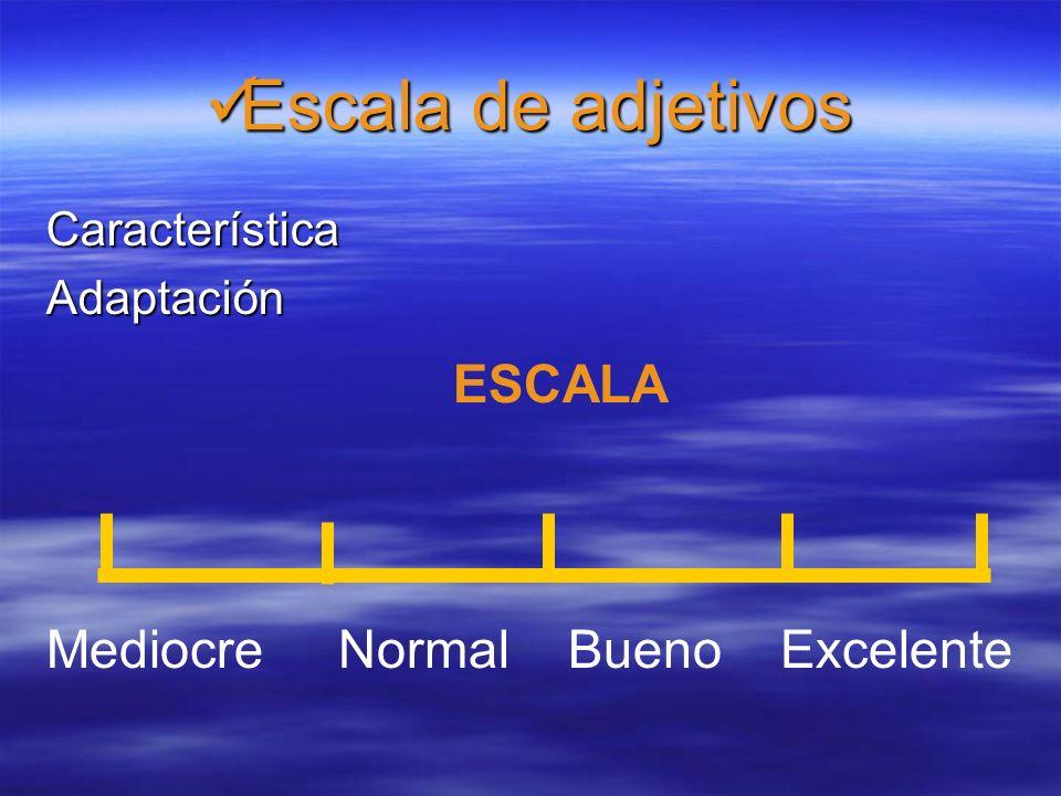 Escala Percentil Escala Percentil Característica:Iniciativa ESCALA 1020402010