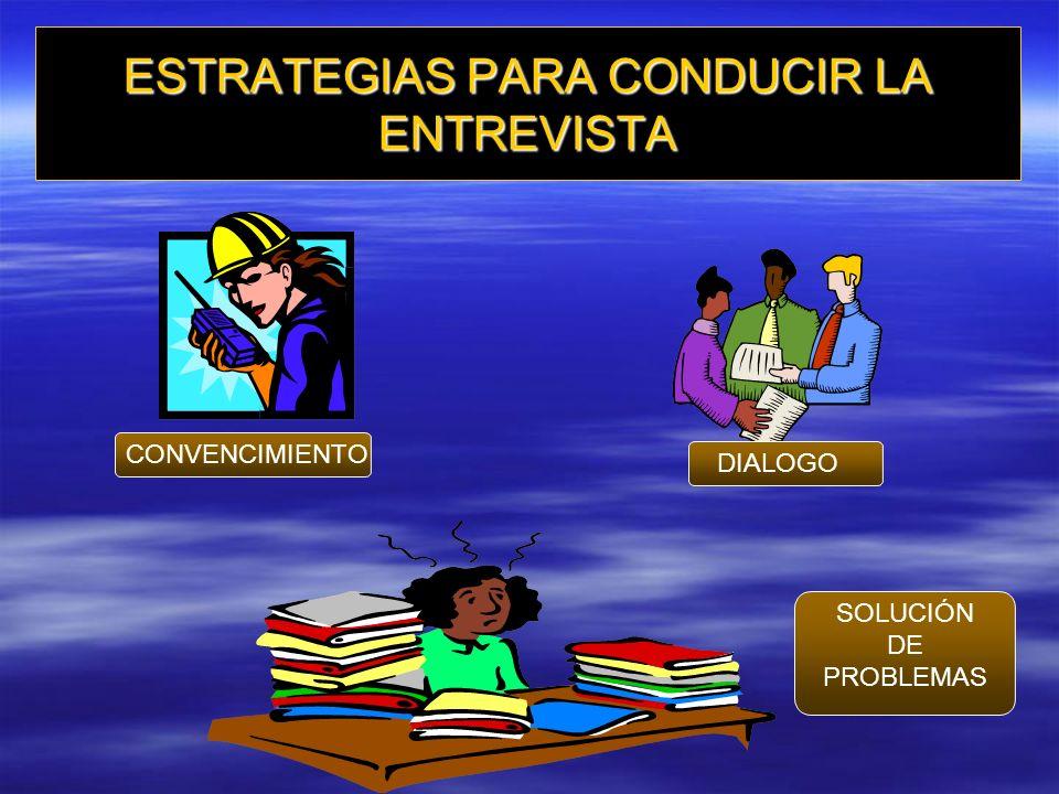 PRESENTACION DE LA EVALUACION AL EMPLEADO ETAPAS DE LA ENTREVISTA –Preparación –Desarrollo –Cierre