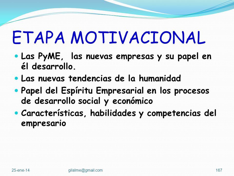 ETAPA MOTIVACIONAL Para el logro de estos objetivos el debe cubrir áreas temáticas como las siguientes: Las culturas transformadoras y sus característ
