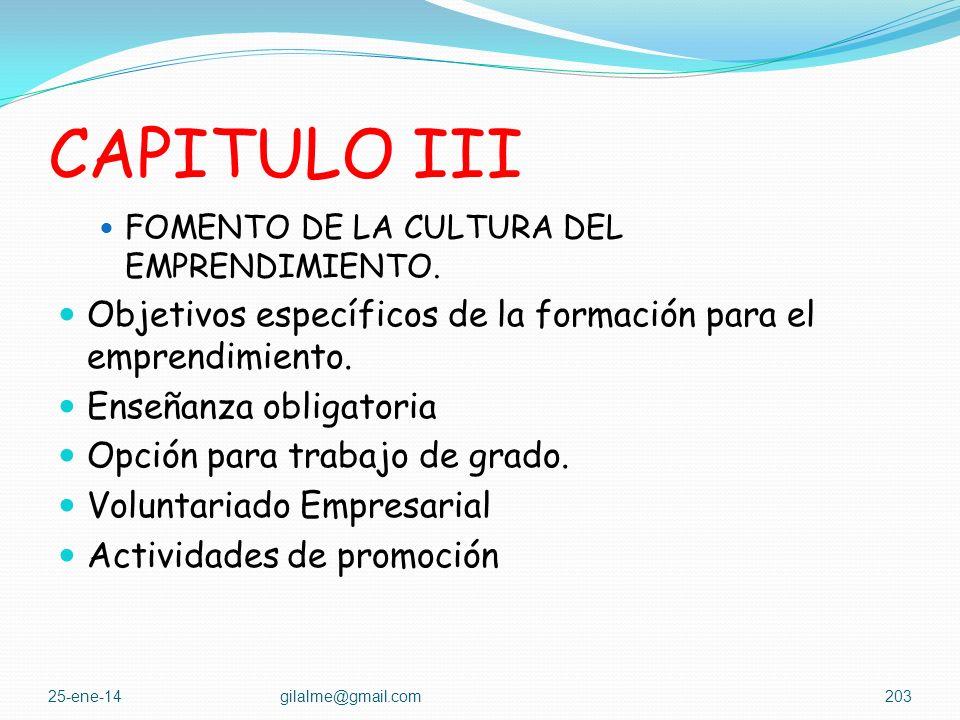 CAPITULO II Funciones de las redes de emprendimiento. Secretaría Técnica Mesas de Trabajo Objeto de las mesas de trabajo 25-ene-14gilalme@gmail.com202
