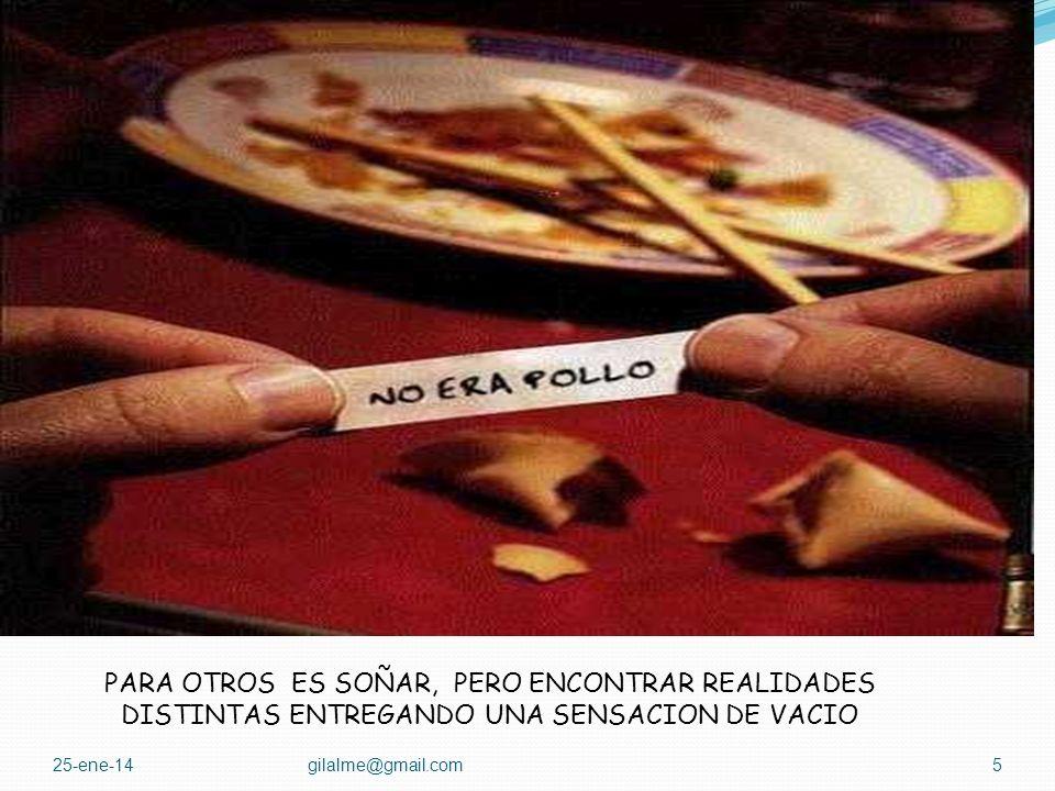 25-ene-14gilalme@gmail.com4 PARA ALGUNOS ES UN SUEÑO DE BELLEZA Y ALGO DE ESFUERZO DONDE HAY LOGROS DIA A DIA