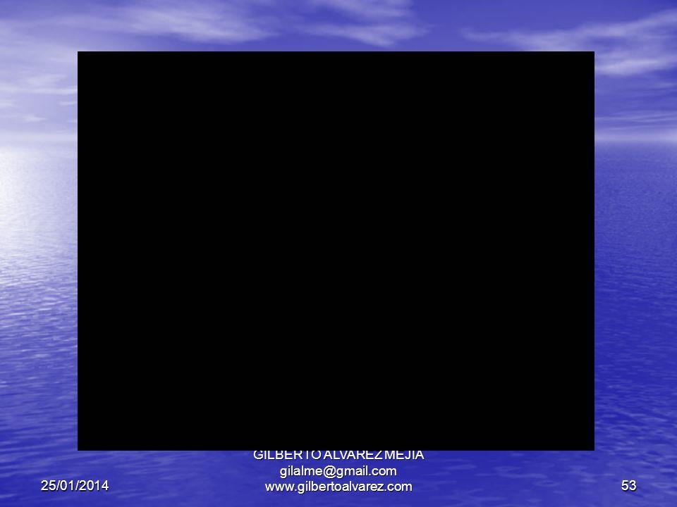 25/01/2014 GILBERTO ALVAREZ MEJIA gilalme@gmail.com www.gilbertoalvarez.com52 CONTROL DE INFORMACION REQUERIMIENTOS DE INFORMACION POR CATEGORIA DE DECISION.