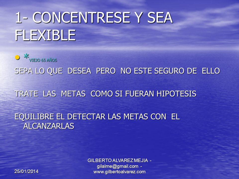 25/01/2014 GILBERTO ALVAREZ MEJIA - gilalme@gmail.com - www.gilbertoalvarez.com