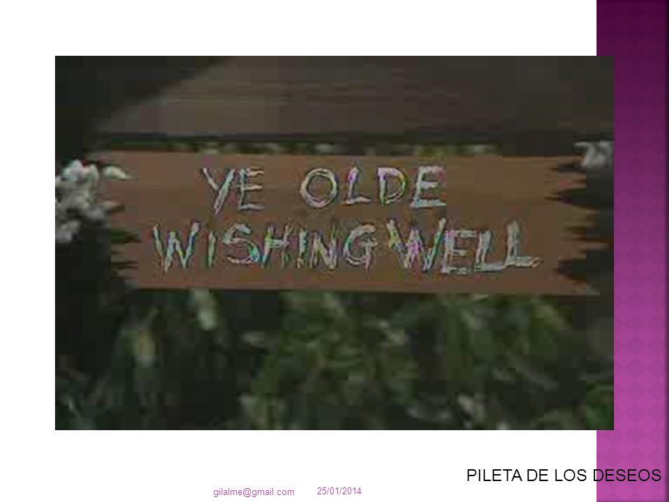 25/01/2014 gilalme@gmail.com PILETA DE LOS DESEOS