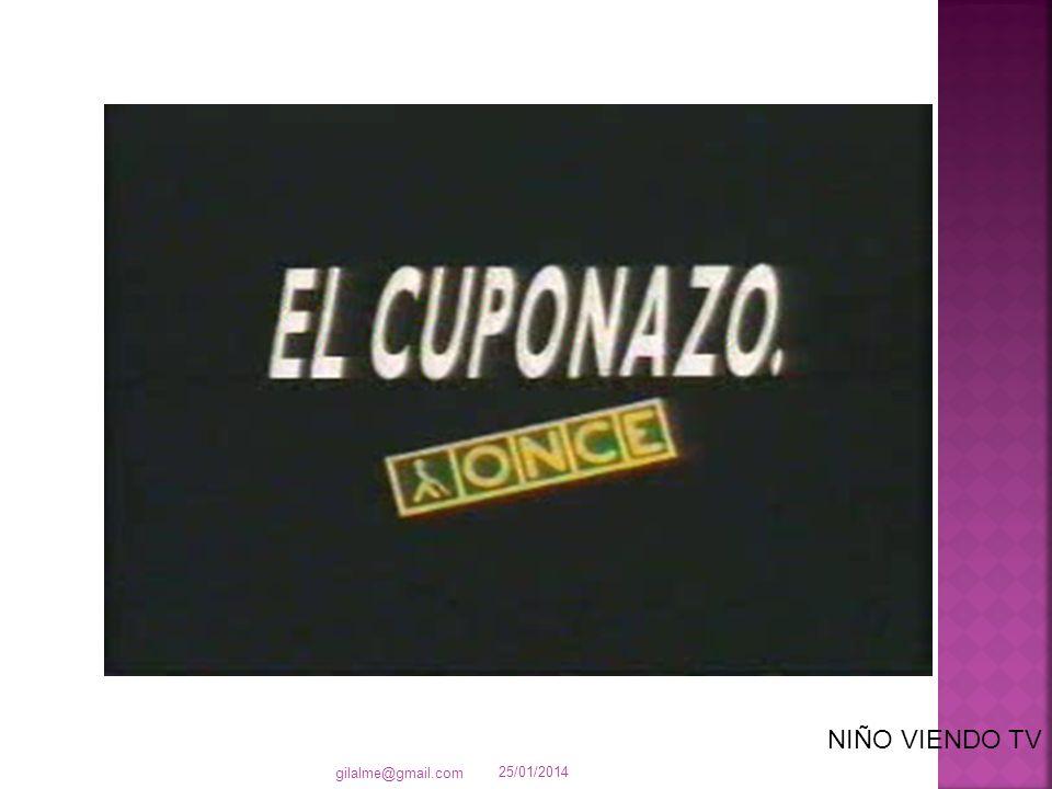 25/01/2014 gilalme@gmail.com NIÑO VIENDO TV