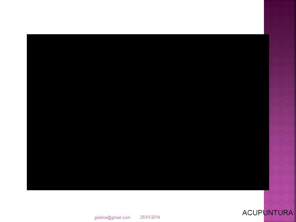 25/01/2014 gilalme@gmail.com ACUPUNTURA