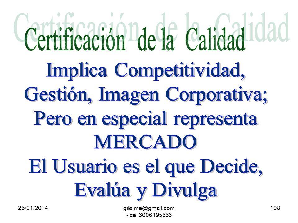 25/01/2014gilalme@gmail.com - cel 3006195556 107 Diseño Asistido CAD Manufactura Asistida CAM Protocolo de Automatización MAP Planeación y Control de