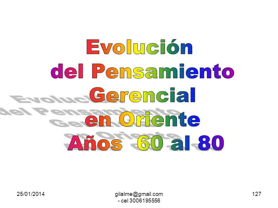 25/01/2014gilalme@gmail.com - cel 3006195556 126 Teoría X y Y Hombre X Hombre Y Negativo Positivo Organización Hombre Líder