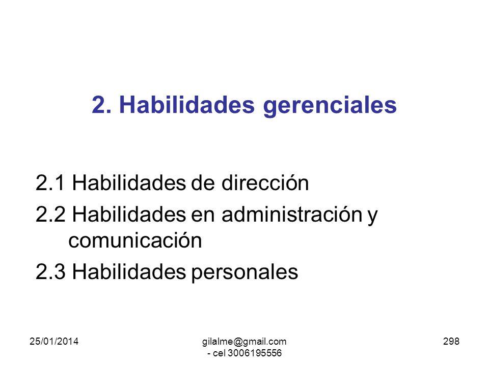 25/01/2014gilalme@gmail.com - cel 3006195556 297 1.Características básicas Experiencia en el sector público (preferentemente) Capacidades especiales p