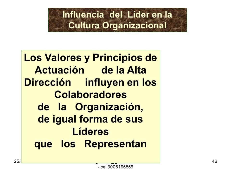 25/01/2014gilalme@gmail.com - cel 3006195556 45 La eficacia de una organización depende directamente del tipo de Cultura que maneje Mejores Servicios