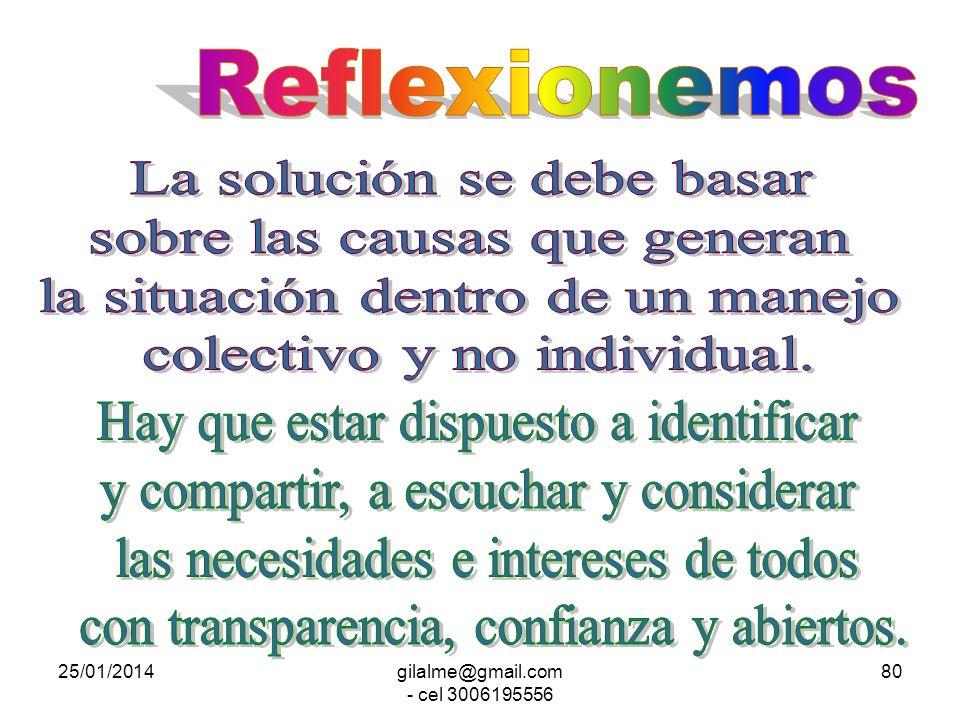 25/01/2014gilalme@gmail.com - cel 3006195556 79 ENTRADA PROCESO GENERADOR SALIDA