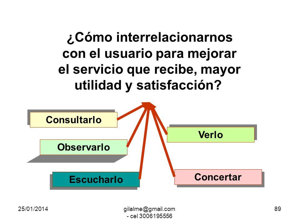 25/01/2014gilalme@gmail.com - cel 3006195556 88 Desarrollo Organizacional DO Es un Enfoque Sistemático, integrado y planeado La organización como medi
