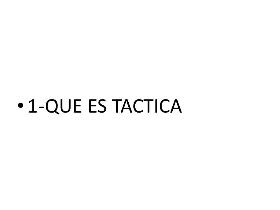 1-QUE ES TACTICA