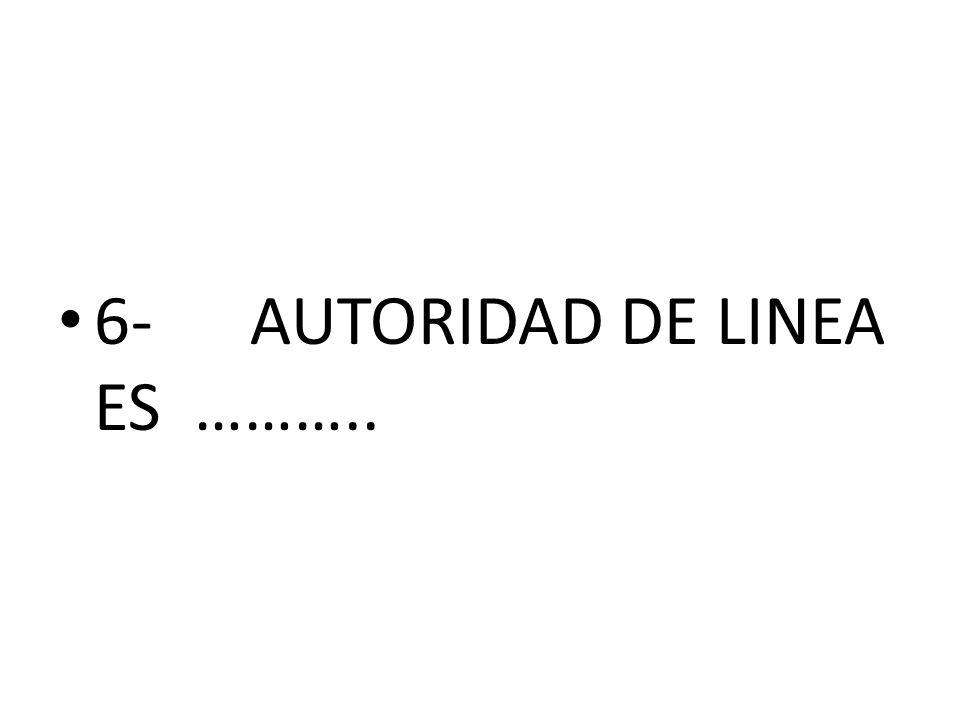 6-AUTORIDAD DE LINEA ES ………..